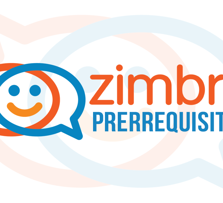 Zimbra Collaboration - Prerrequisitos