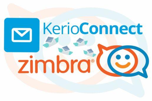 Migración de Kerio a Zimbra
